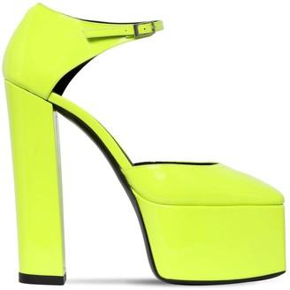 Giuseppe Zanotti Design 150mm Patent Leather Platform Sandals
