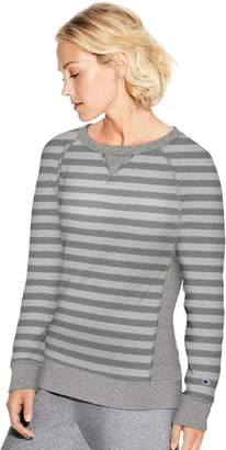 Champion Women's Heritage French Terry Raglan Sleeve Top