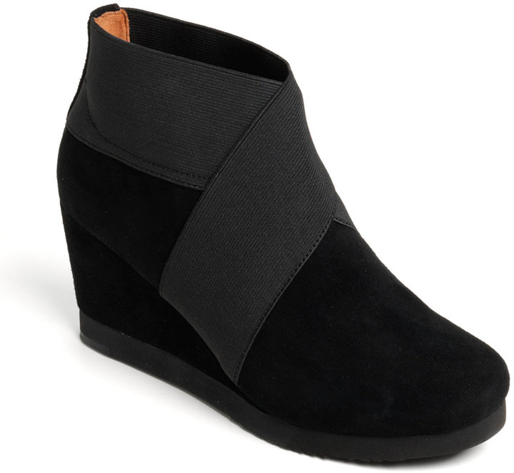 Gentle Souls Two For Dawn Suede Wedge Boots