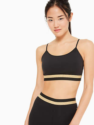 Kate Spade Bi-stripe sports bra