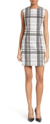 Women's Diane Von Furstenberg Print Stretch Cotton Sheath Dress $368 thestylecure.com