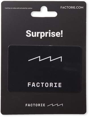Cotton On Factorie $50 Gift Card