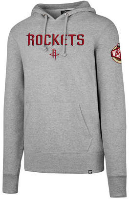 '47 Men's Houston Rockets Double Double Pullover Hoodie