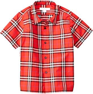 Burberry Steven Check Woven Shirt