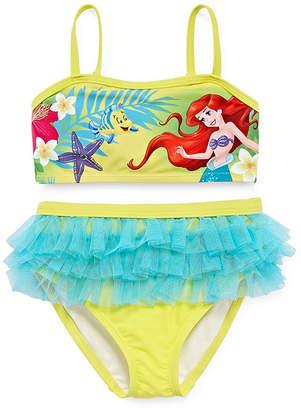 Disney Girls The Little Mermaid Tankini Set