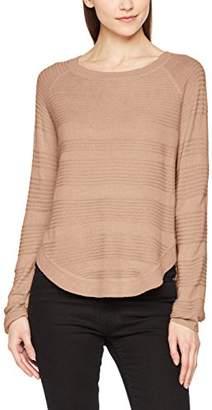 Only Women's onlCAVIAR L/S Pullover KNT NOOS Jumper, (Medium Grey Melange), (Size: Small)