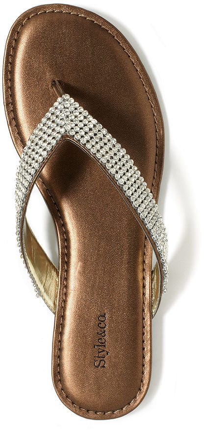 Style&Co. Shoes, Kola Flat Sandals
