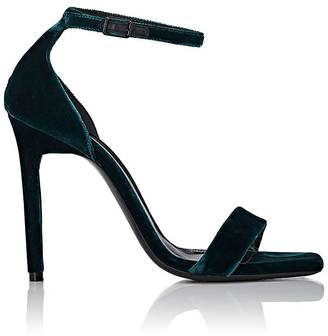 Women's Malachite Velvet Sandals