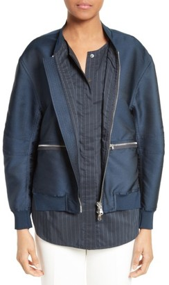 Women's 3.1 Phillip Lim Bomber Jacket $850 thestylecure.com