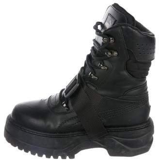 FENTY PUMA by Rihanna Leather Platform Ankle Boots