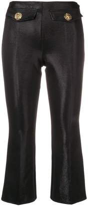 Elisabetta Franchi slim cropped trousers