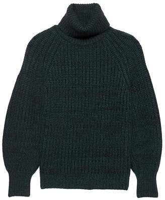 Banana Republic Cashmere Chunky Turtleneck Sweater