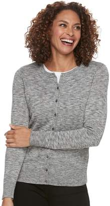 Croft & Barrow Petite Essential Cardigan Sweater