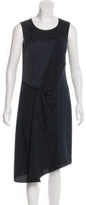 AllSaints Sleeveless Crepe Dress
