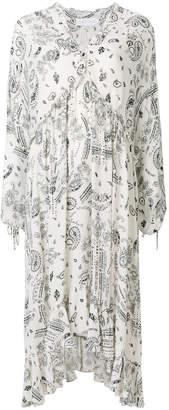 IRO paisley print ruffle Baphir dress