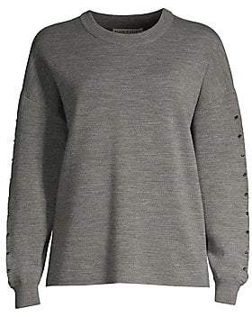 Alice + Olivia Women's Quintin Wool Sweater