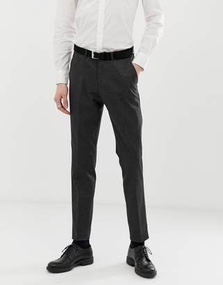 Lindbergh knitted suit trouser in grey