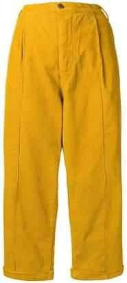 Henrik Vibskov cropped corduroy trousers