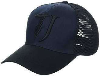 Trussardi Jeans Men's Baseball Hat Color Block Cotton/Poliestere Cap
