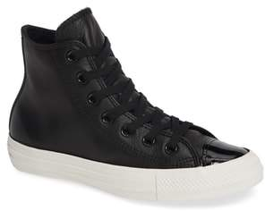 Converse Chuck Taylor(R) All Star(R) Leather Patent High Top Sneaker