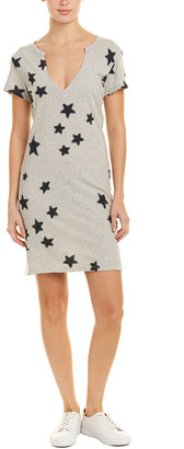 Pam & Gela Star Print Shift Dress