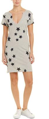 Pam & Gela Star Print Shift Dress