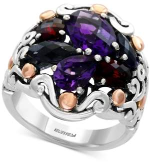 Effy Balissima Multi-Gemstone Ring (4-1/2 ct. t.w.) in Sterling Silver and 18k Rose Gold