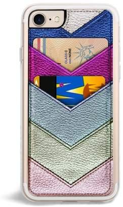 Zero Gravity Chevron Faux Leather iPhone X Case