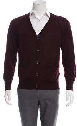 3a371eccfdb Burberry Men's V-neck Sweaters - ShopStyle
