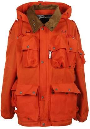 R 13 Button Flap Pocket Jacket