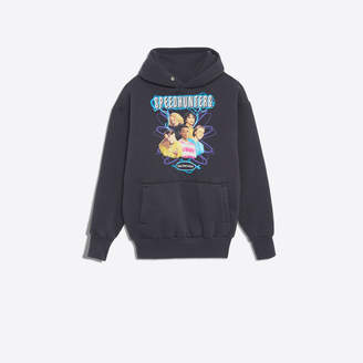 Balenciaga Speedhunters Boysband printed hoodie