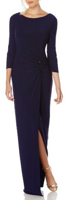 Women's Laundry By Shelli Segal Matte Jersey Gown $275 thestylecure.com
