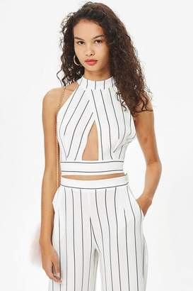 Love **Stripe Crossover Top by