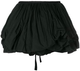 Ann Demeulemeester balloon mini skirt