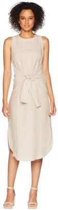 Three Dots Woven Linen Dress Women's Dress