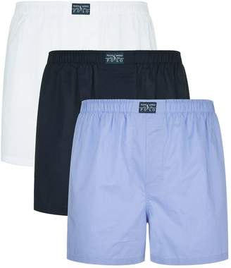 Polo Ralph Lauren Classic Cotton Boxer Shorts (Pack of 3)