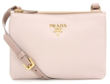 prada Prada Leather Crossbody Bag
