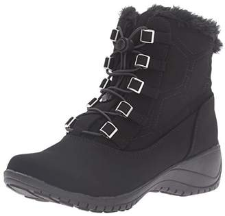 Khombu Women's Alexa Snow Boot $75 thestylecure.com