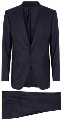 Shelton Check Wool Suit