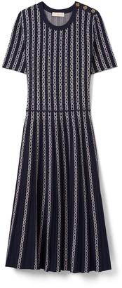 Gemini Link Jacquard Dress