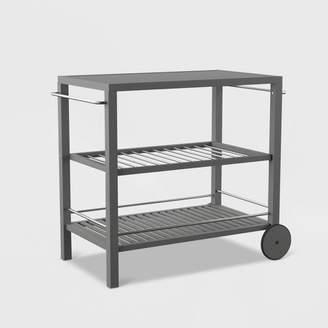 SEI Outdoor Patio Bar Cart - Gray