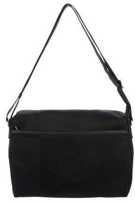 Louis Vuitton Brown Terre Damier Geant Petit Messenger Bag Item  specification Source · Brown Black Canvas Messenger Bag ShopStyle 3607b722db473