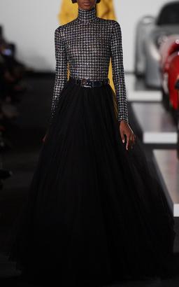 Ralph Lauren Ellison Full Length Skirt