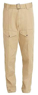 Givenchy Men's Belted Cargo Pants