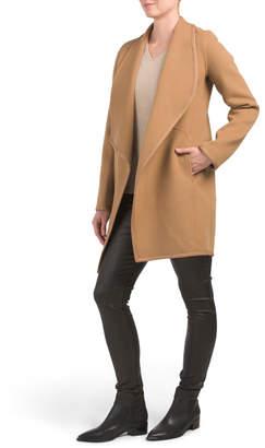 Elie Tahari Wool Christina Coat