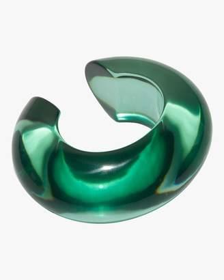 Lizzie Fortunato Sea Green Arc Cuff