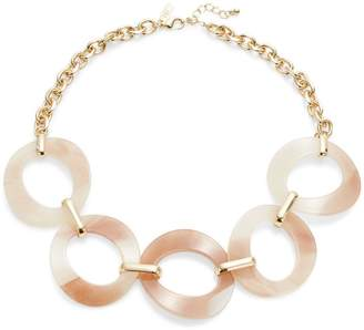 Etereo Cut-Out Disc Chain Necklace