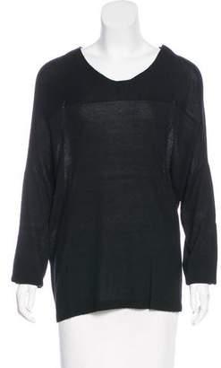 Cividini Knit Long Sleeve Top