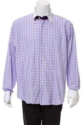 Couture Billionaire Italian Striped Dress Shirt