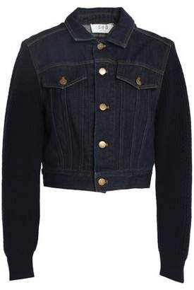 Sea Cropped Denim Jacket